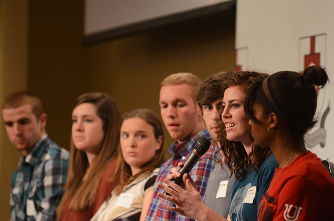 Preview Day student question & answer panel