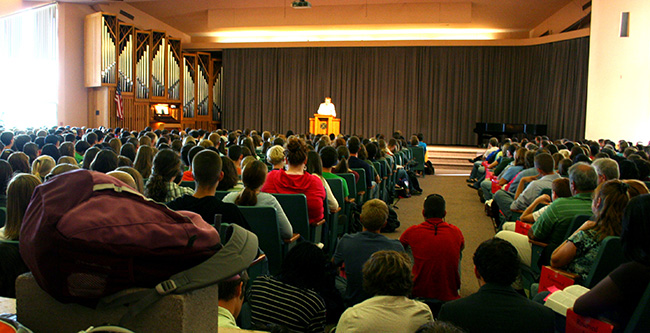 Preview day chapel with David Platt