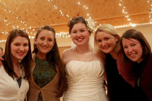 "Submitted by Kristi Woody - ""Friends since the first day of school! We love each other like sisters. I couldn't imagine my life without these amazing women. My mother has told me she prayed all my life for me to have friends like these, and her prayers were answered when I started school at Union University. Miranda Lindsey, Kristi Woody, Stephanie Smith, Emily Campbell, Libby Ford"""