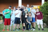 The men of Grey with their hard earned Union Cup!