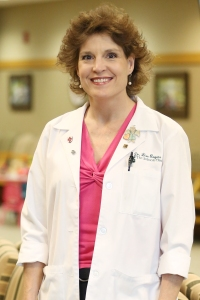 Lisa Rogers, portrait inside the Jackson Clinic